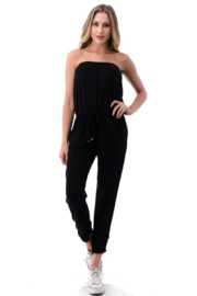 Ariella Tube Jumpsuit with Pockets - Product Mini Image