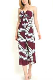 in the Beginning Tube  Tie Jumpsuit - Product Mini Image