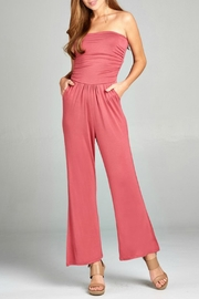 Active Basic Tube Top Jumpsuit - Product Mini Image