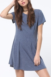 Very J Tucked Front Dress - Product Mini Image