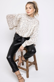 Bishop + Young Tucker Smock Neck Top - Front cropped