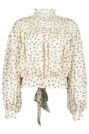 Bishop + Young Tucker Smock Neck Top - Front full body