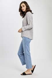 Gentle Fawn Tucker V-neck Pullover Sweater - Front full body