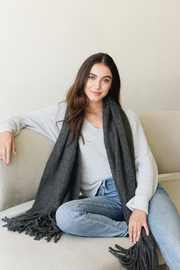 Gentle Fawn Tucker V-Neck Sweater - Other