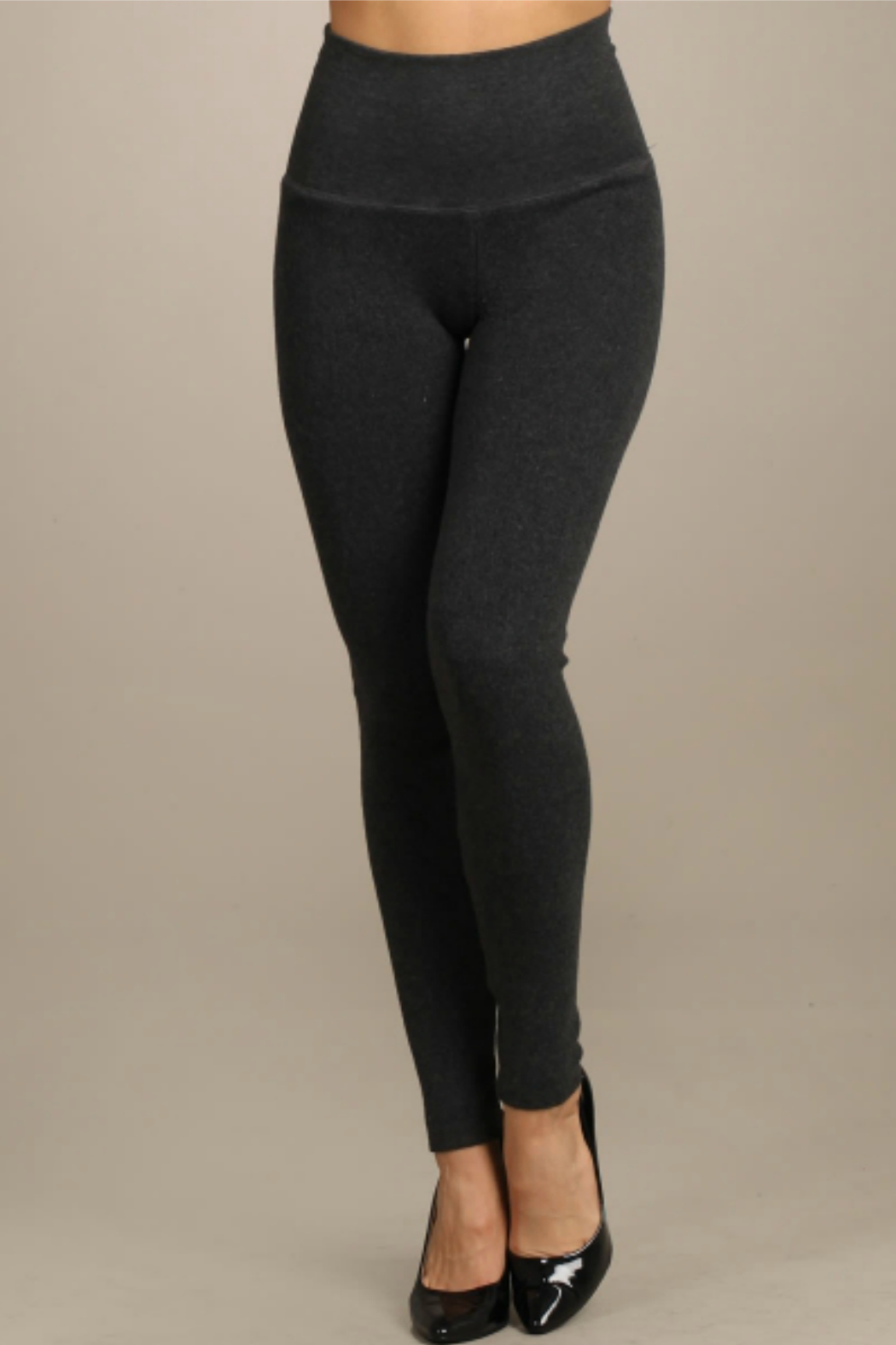 M. Rena Tucmmy Tuck Solid Sweater Legging - Main Image