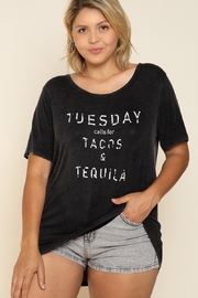 POL Tuesday Taco's Tequila T-Shirt - Product Mini Image