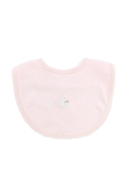 tugboat & the bird Pink Bib - Front cropped