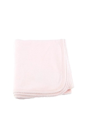 tugboat & the bird Pink Receiving Blanket - Product Mini Image