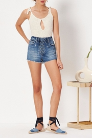 Tularosa  Emma High Rise Shorts - Front full body