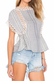 Tularosa  Marla Embroidered Top - Front full body