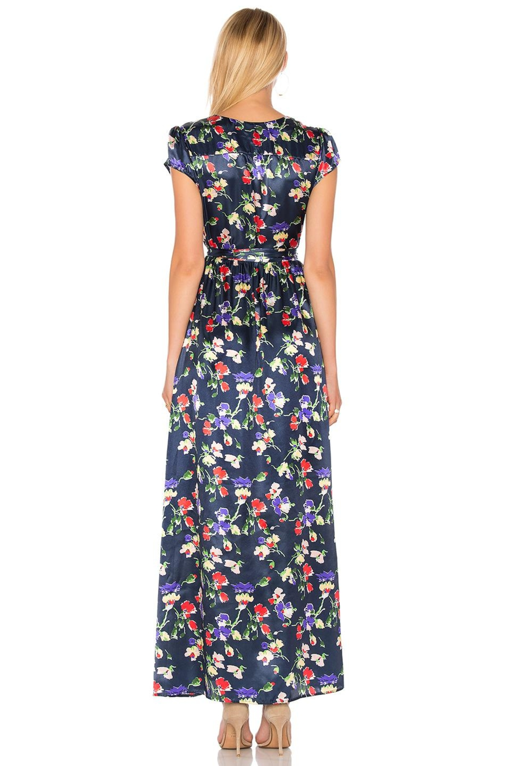 Tularosa  Sid Wrap Dress - Side Cropped Image