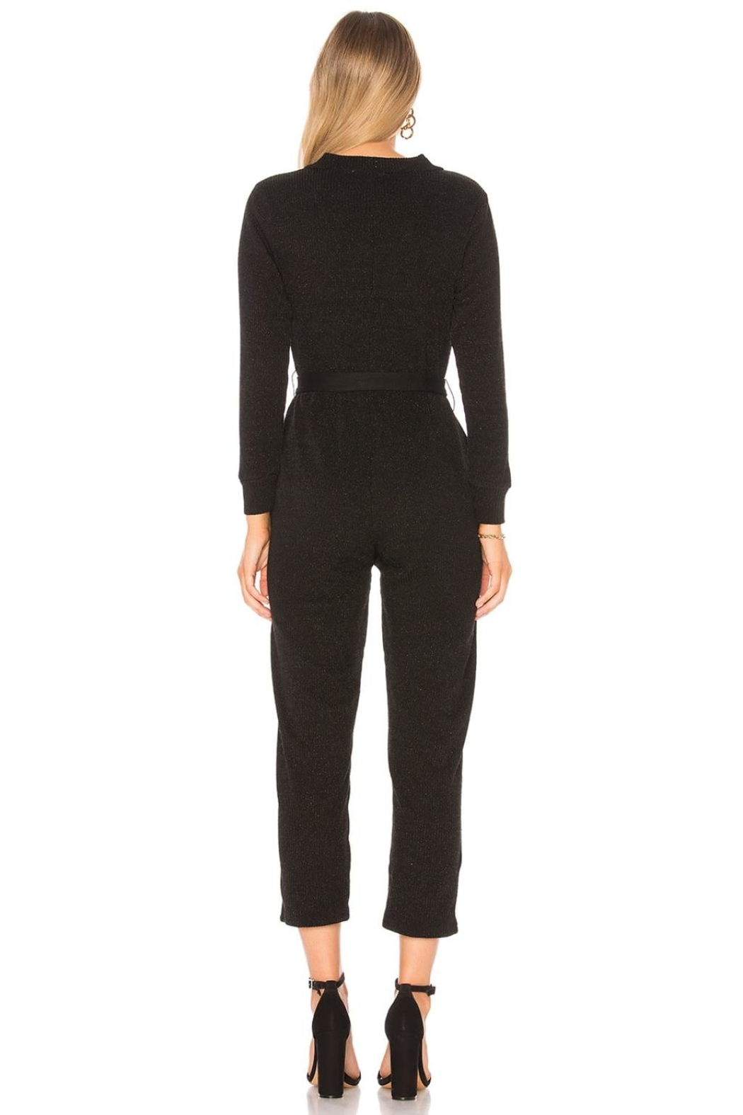 Tularosa  Veronica Knit Jumpsuit - Front Full Image