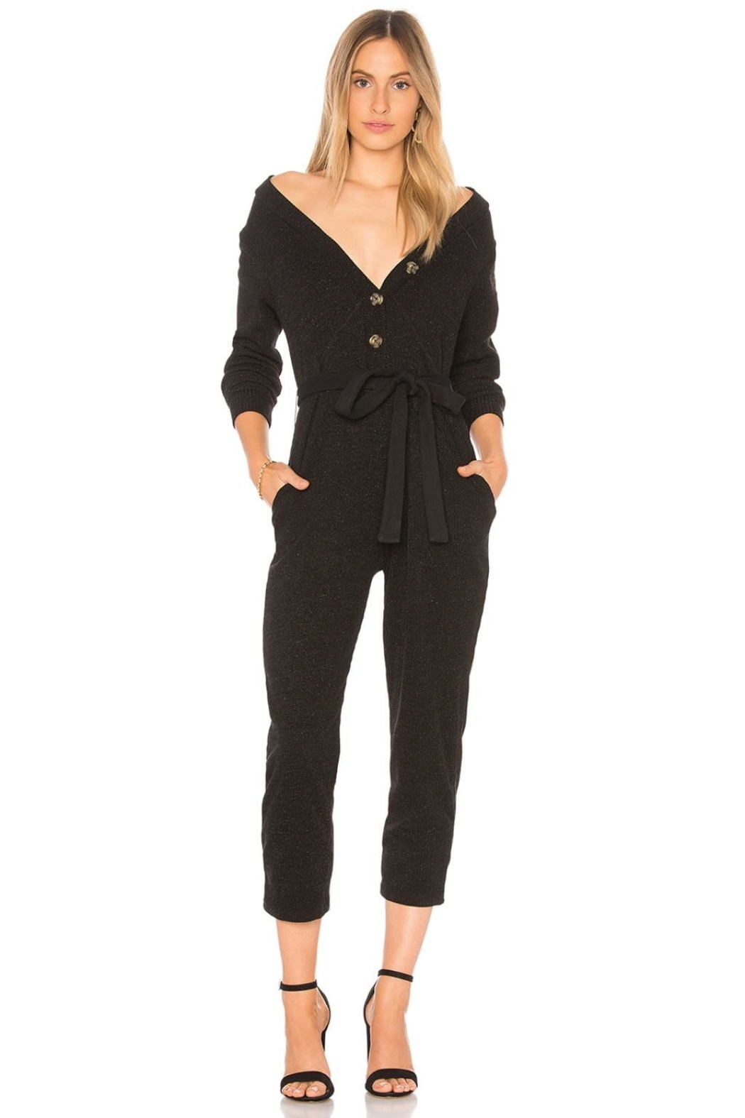Tularosa  Veronica Knit Jumpsuit - Front Cropped Image