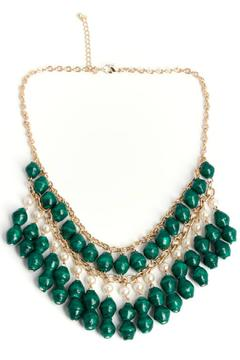 Shoptiques Product: Florence Evergreen Necklace