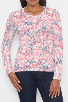 Whimsy Rose Tulip Are Back - Long Sleeve Crew - Product List Image