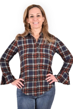 Ethyl Tulip Cuff Button-Up - Product List Image