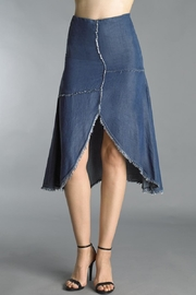 Tempo Paris Tulip Denim Skirt - Product Mini Image