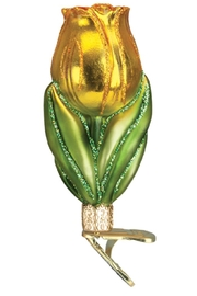 Old World Christmas Tulip Glass Ornaments - Product Mini Image