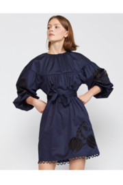 Cynthia Rowley Tulip Lace Embroidered Dress - Side cropped