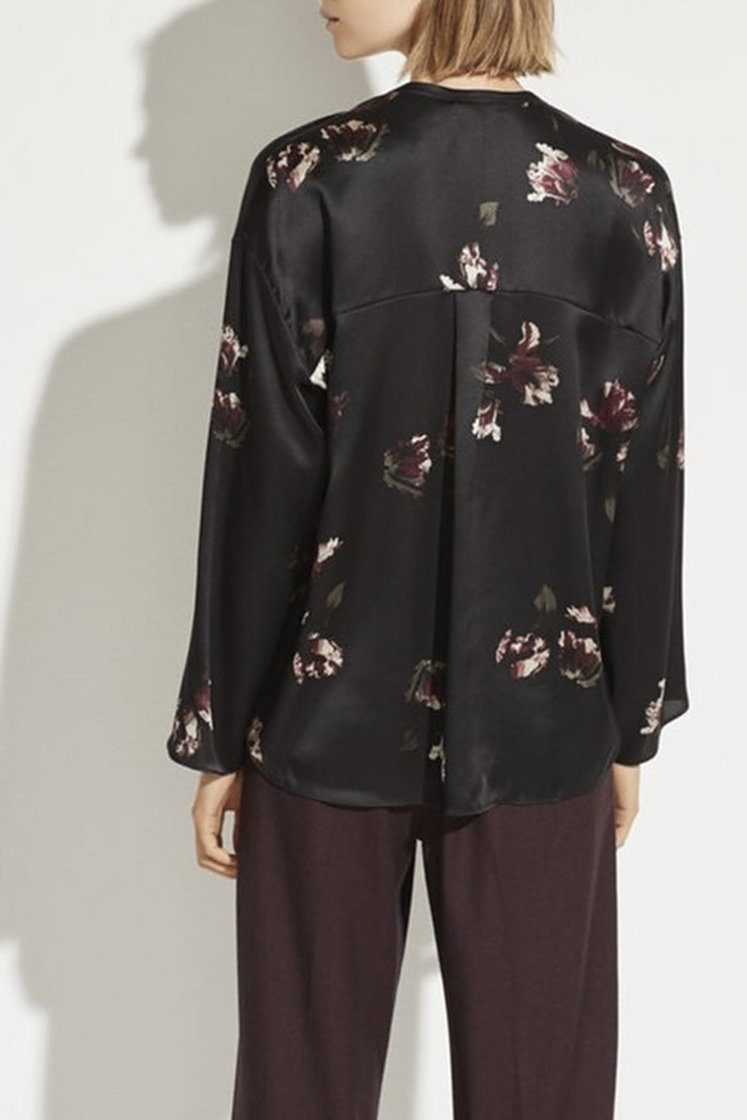 Vince Tulip Print Blouse - Front Full Image