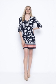 Picadilly Tulip/stripe Print Dress - Product Mini Image