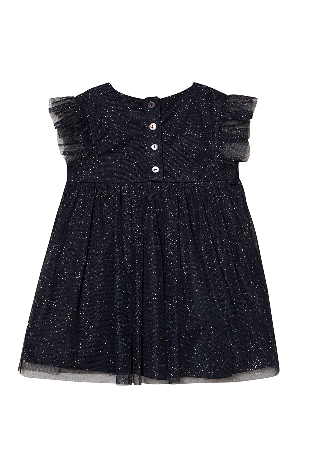 Creamie Tulle Dress Total Eclipse - Front Full Image