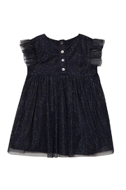 Creamie Tulle Dress Total Eclipse - Front full body