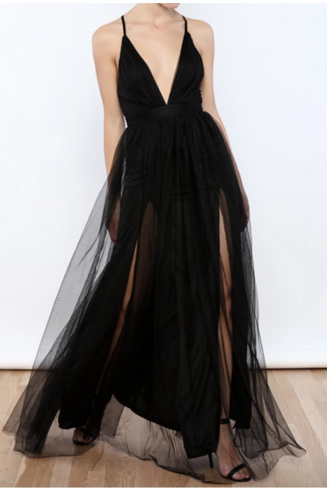 8c8bdd8e66 luxxel Tulle Maxi Dress from New York by Dor L Dor — Shoptiques