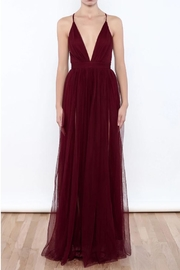 luxxel Tulle Maxi Gown - Product Mini Image