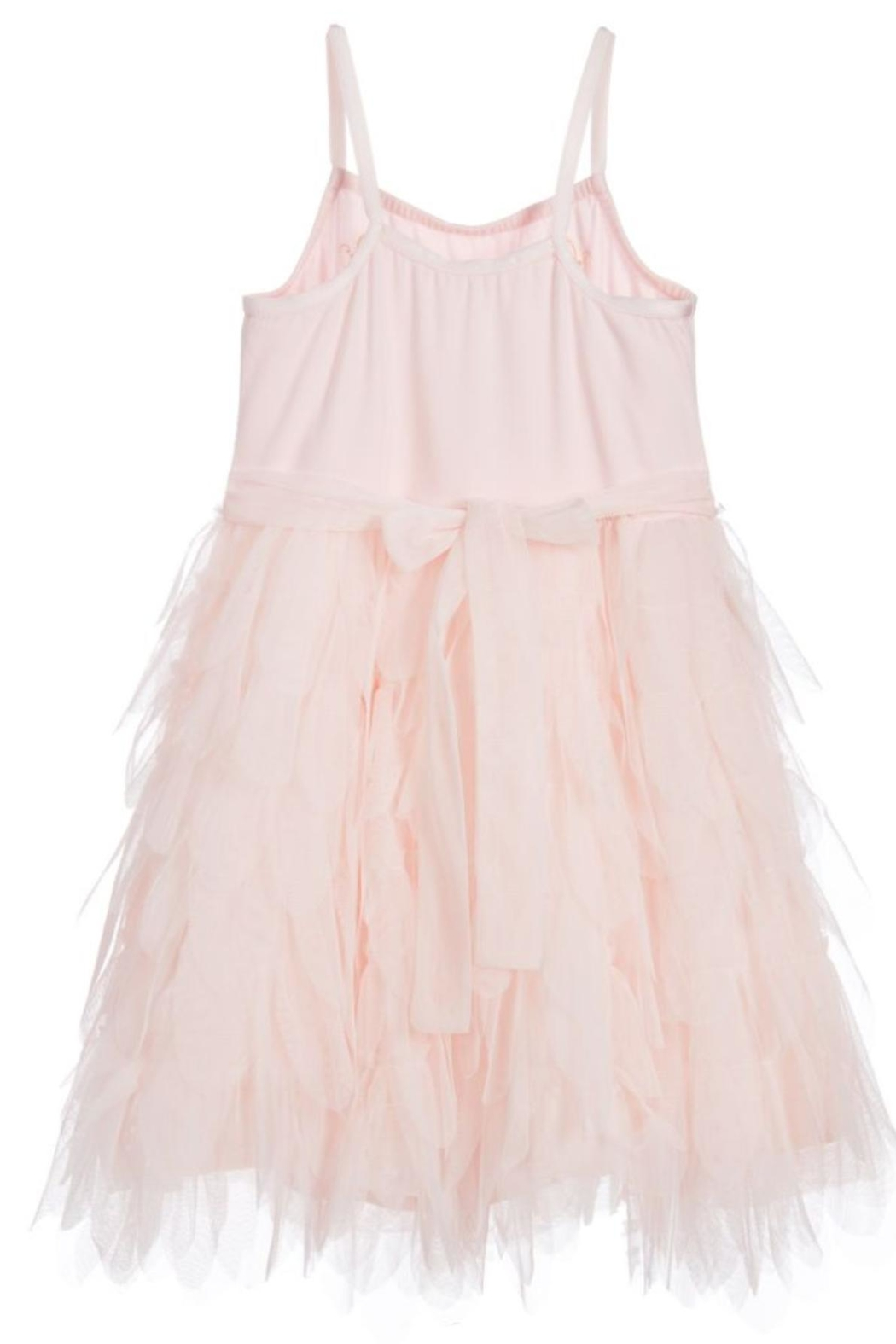 Biscotti Tulle Petals Dress - Side Cropped Image