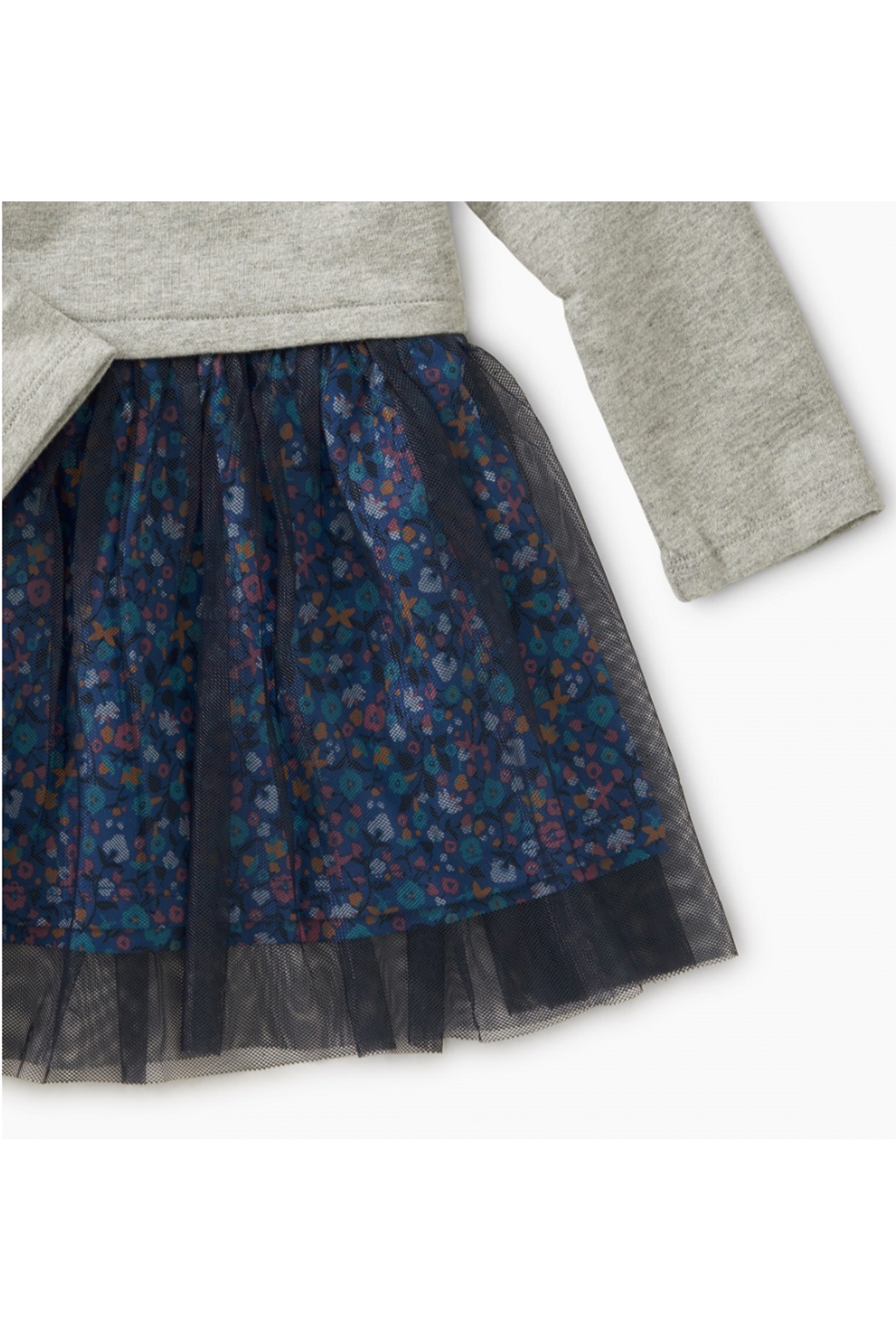 Tea Collection Tulle Skirted Baby Dress - Front Full Image