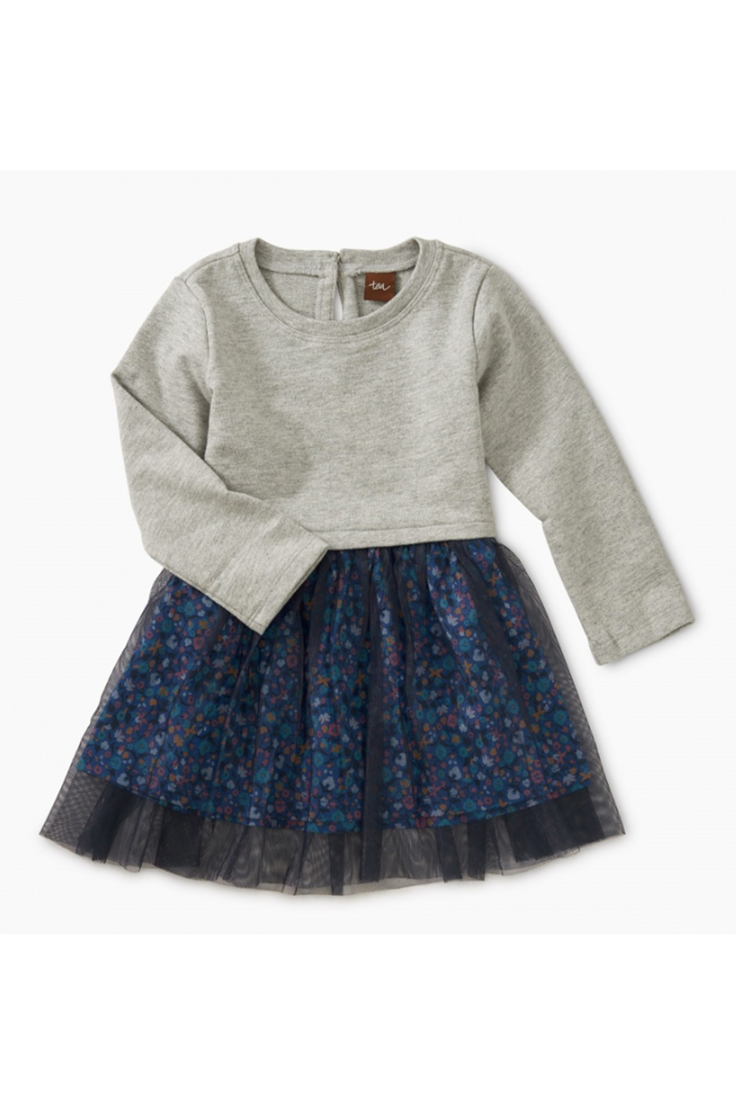Tea Collection Tulle Skirted Baby Dress - Main Image