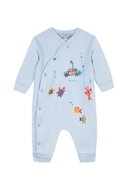 Paul Smith Junior Tully Fancy-Print Pyjama - Front cropped