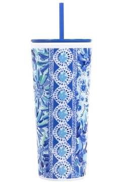 Lilly Pulitzer  Tumbler with Lid and Straw - Alternate List Image