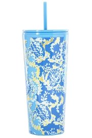 Lilly Pulitzer  Tumbler with Lid and Straw - Product Mini Image