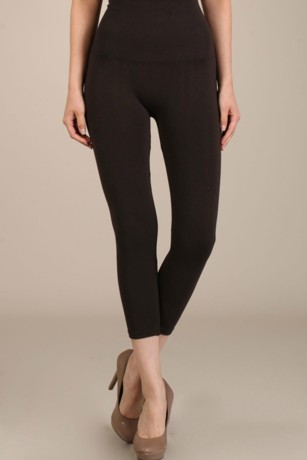 M. Rena Tummy Tuck Leggings - Front Cropped Image