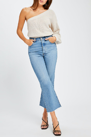 Gentle Fawn Tundra One Shoulder Sweater - Back cropped