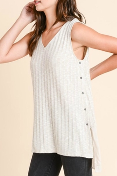 Shoptiques Product: Tunic Side Buttons