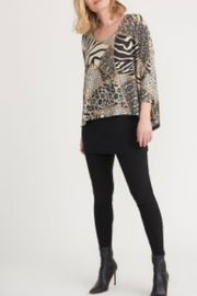 Joseph Ribikoff long sleeve pattern tunic - Product Mini Image