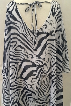 Simply Noelle Tunic with poncho-like over piece - Alternate List Image