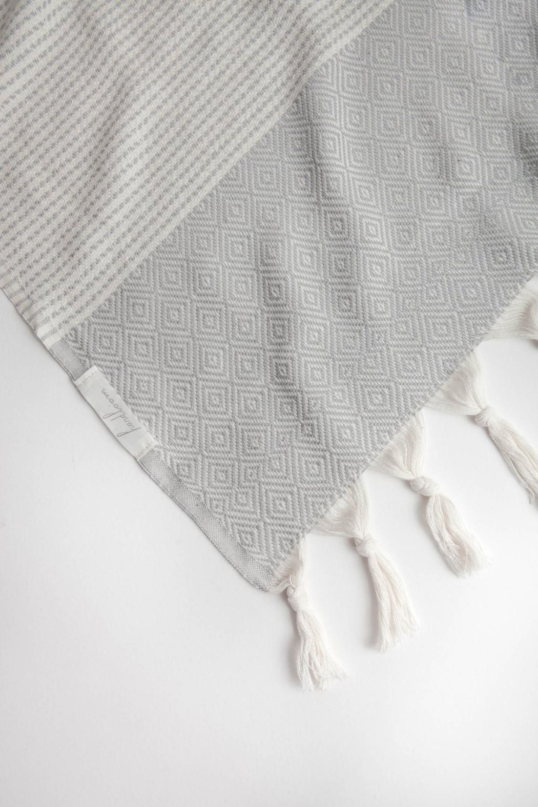 The Handloom Turkish Cotton Throw Towel - Side Cropped Image