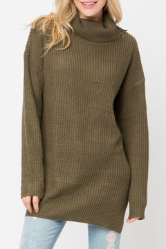 Cozy Casual Turleneck Sweater Tunic - Product List Image