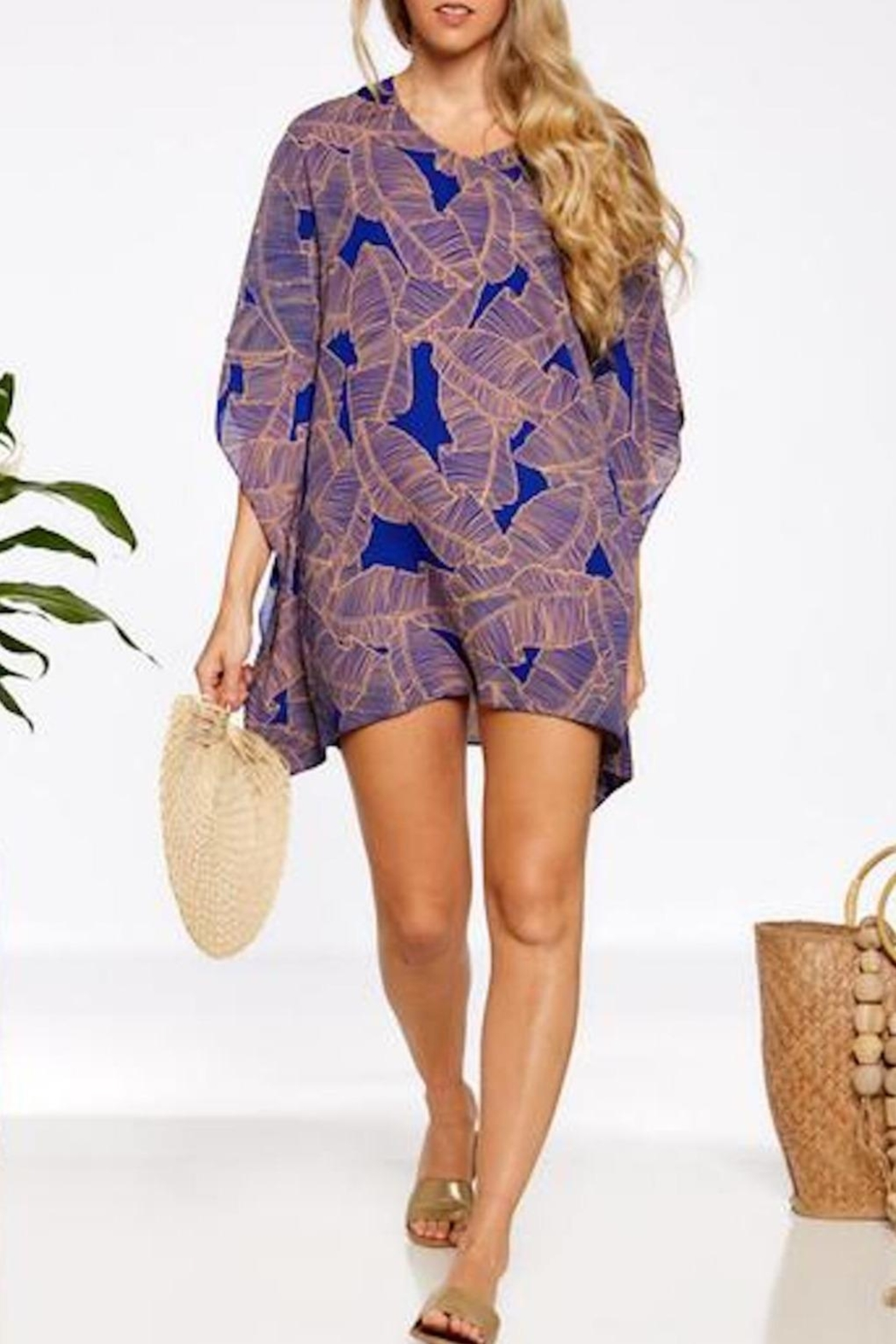 Asher by Fab'rik Turner Coverup - Blue - Main Image