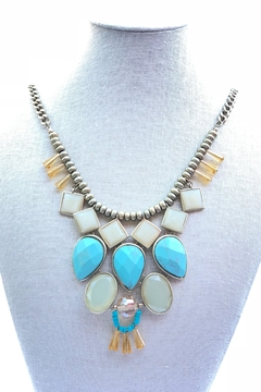 Shoptiques Product: Turquiose Statement Necklace