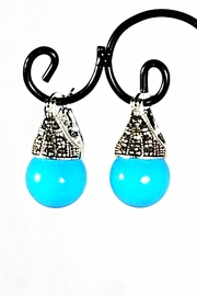 Italian Ice Turquoise Ball Earrings - Product Mini Image