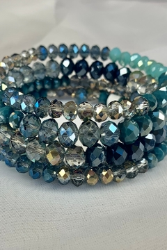 deannas Turquoise beaded cuff bracelet - Alternate List Image
