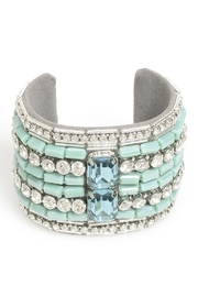 Zenzii Turquoise Beaded Cuff - Product Mini Image