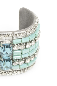 Zenzii Turquoise Beaded Cuff - Alternate List Image