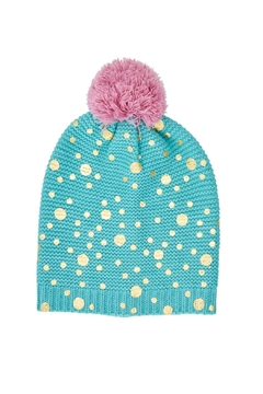 Rice DK Turquoise Beanie - Product List Image
