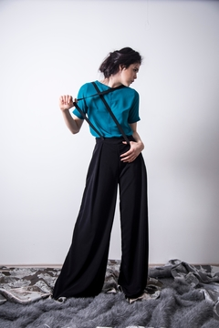 Loula by Zermeno Turquoise Blouse - Product List Image
